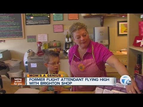 Former flight attendant flying high with Brighton crepe shop