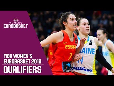 Ukraine v Spain - FIBA Women's EuroBasket 2019 Qualifiers