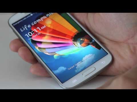 White Samsung Galaxy S4 Unboxing and First Review (AT&T 4G LTE)