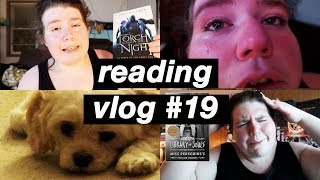 online college life, baseball, & crying over A Star Is Born | reading vlog #19