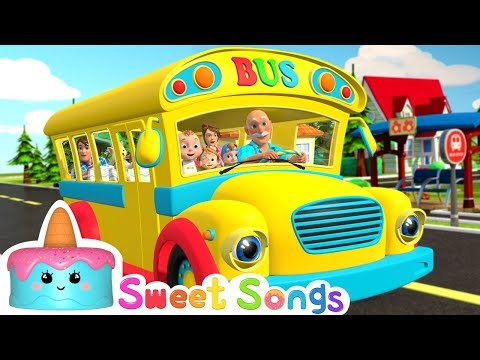 Wheels on the Bus | Song for Kids & Nursery Rhymes - Sweet Song