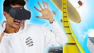 Ich fahre Achterbahn in VR