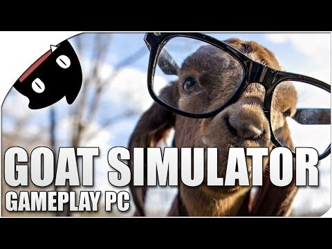 Goat Simulator 05- ¡La cabra Shrek se vuelve loca!