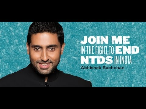 Abhishek Bachchan fights neglected tropical diseases