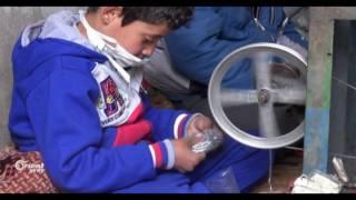 معمل لصناعة سيف جلي الأواني يوفر فرص عمل للأهالي في ريف حماه