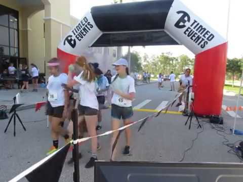 Shark Battalion 5K Color Run - Cape Coral, FL - Timing by Timed Events