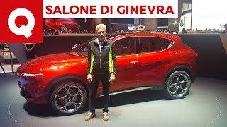 L'Alfa Tonale al primo esame di Paolo Massai - Salone di Ginevra 2019 | Quattroruote