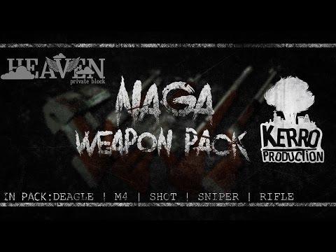 NAGA WEAPON PACK GTA:SA | GENRL SOUNDS | SUICIDE SQUAD HUD