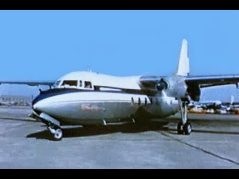 Fokker F.27 Friendship Promo Film - 1957
