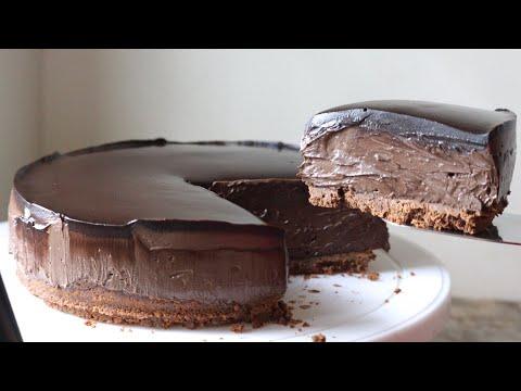 No bake chocolate cheesecake recipe no gelatin and no eggs recipe