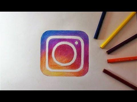 How To Draw Instagram Logo