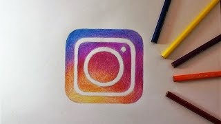 How to Draw the Instagram Logo I Como desenhar o logotipo do Instagram