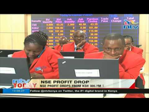 NSE profit drops from Ksh 305.7m to Ksh 183.8m