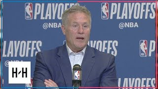 Brett Brown Postgame Press Conference | Sixers vs Heat - Game 3 | April 19, 2018 | 2018 NBA Playoffs