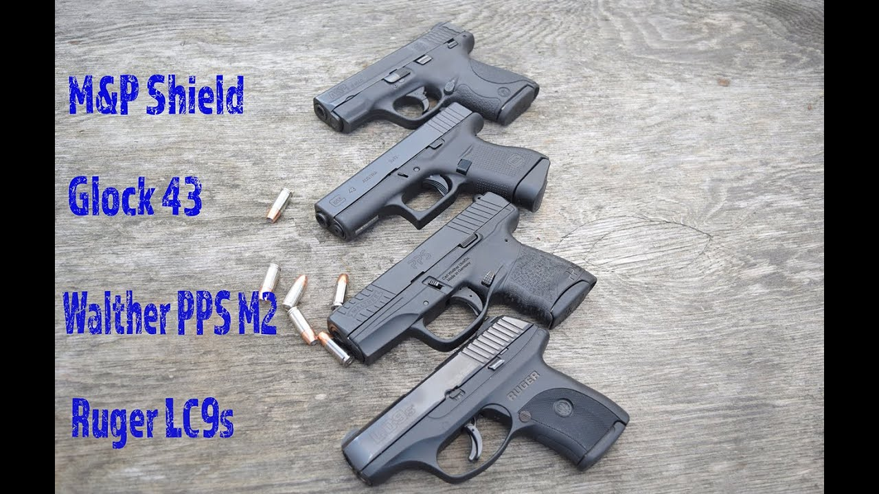 M And P Shield Vs Glock 26 The Ultimate Single St...