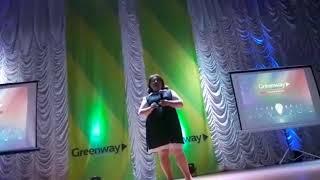 Анна Синица лидер компании GREENWAY Павлодар