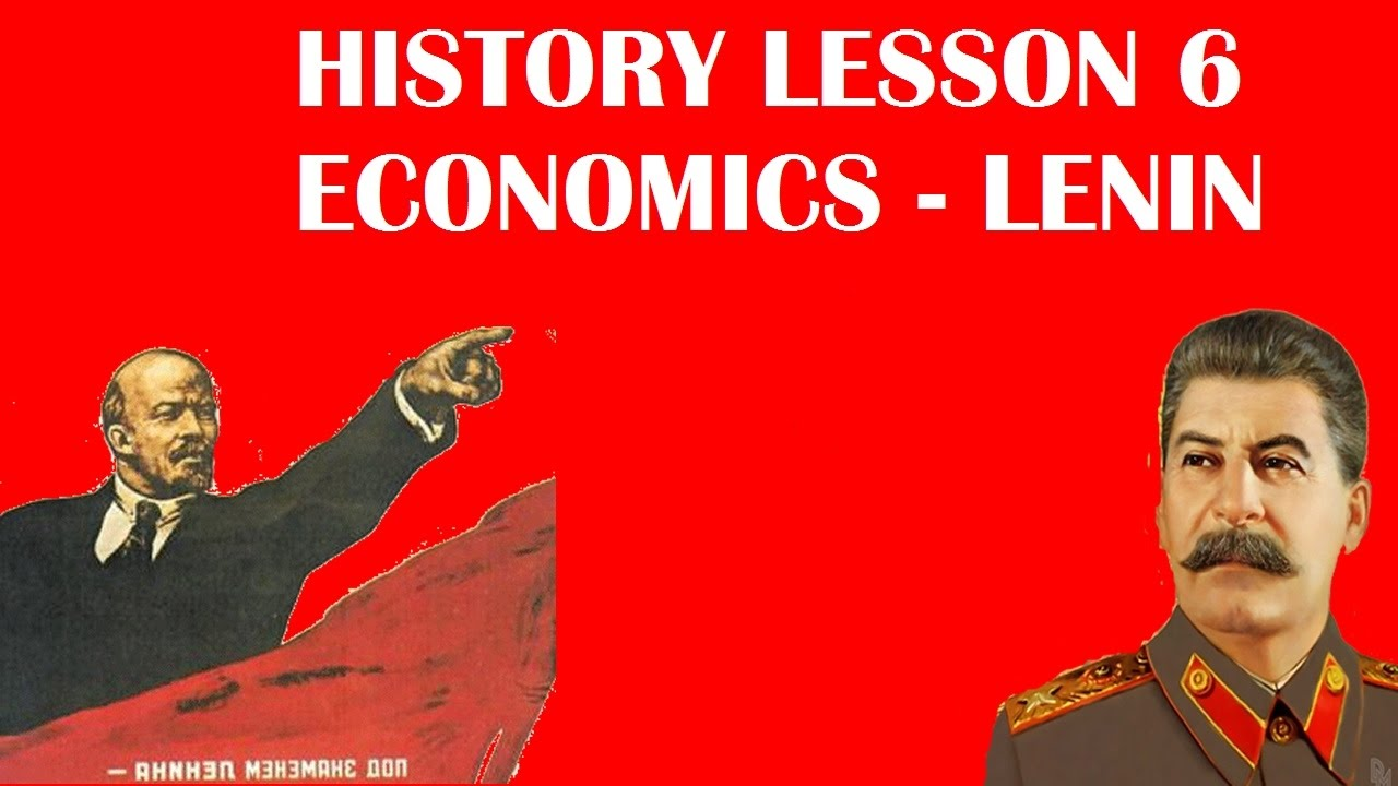 the economy of russia before lenin Lenin's economic policies essay new the party as well as across russia lenin faced a massive task if he a strategic retreat… before we are.