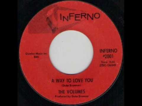 THE VOLUMES   A WAY TO LOVE YOU   INFERNO 2001