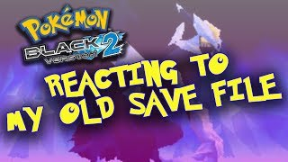 Reacting To My Old Pokemon Black 2 Game!