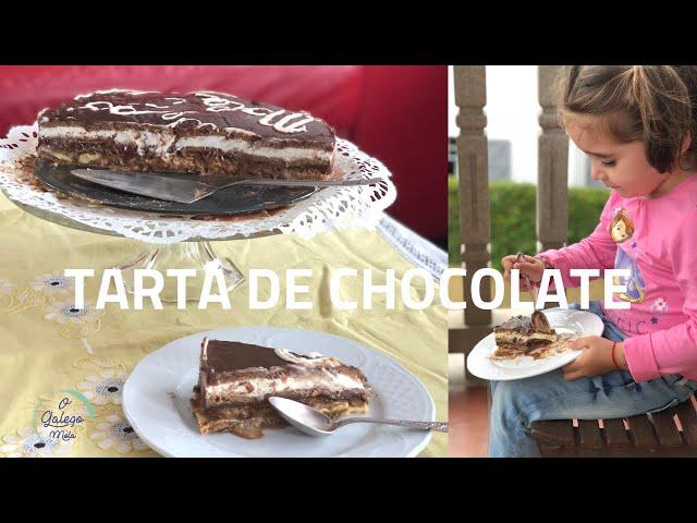 🍴Tarta de chocolate e galleta de toda a vida