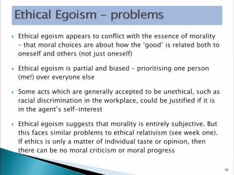 17BSB111 S2.2 Ethical egoism