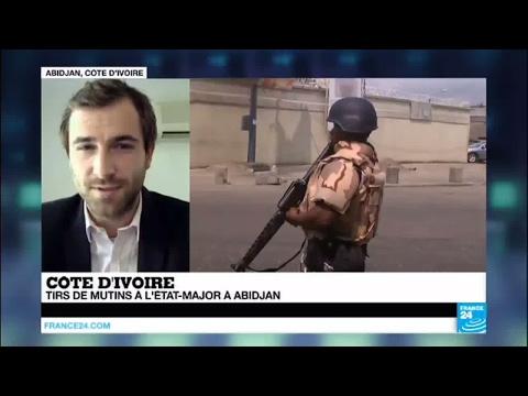 Côte d'Ivoire : Regain de tension après des tirs de mutins à l'Etat-major à Abidjan