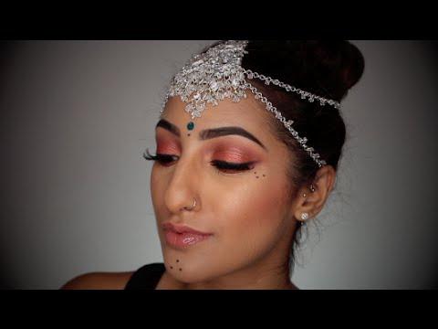 makeup by ethnico-GARBA/NAVRATRI MAKEUP COLLAB WITH KAUSHAL BEAUTY | AnchalMUA