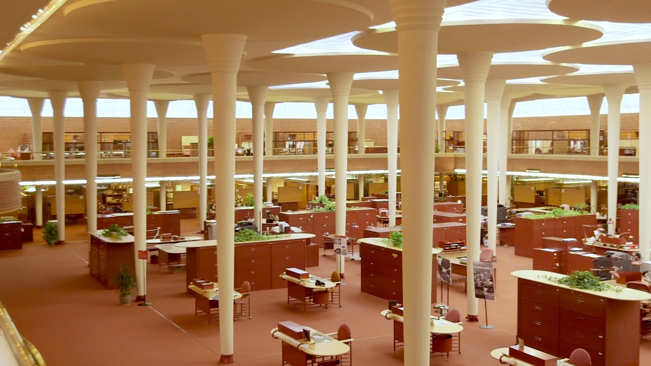 Wright Now At Sc Johnson Free Tours Of Frank Lloyd Wright