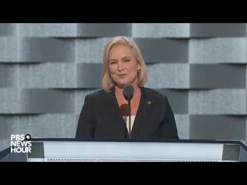Watch Sen. Kirsten Gillibrand's full speech at the 2016 Democratic National Convention