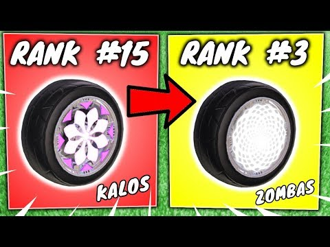 RANKING THE TOP 15 EXOTIC WHEELS IN ROCKET LEAGUE – RL Item Trading