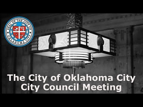 Oklahoma City City Council - Tuesday, September 12, 2017