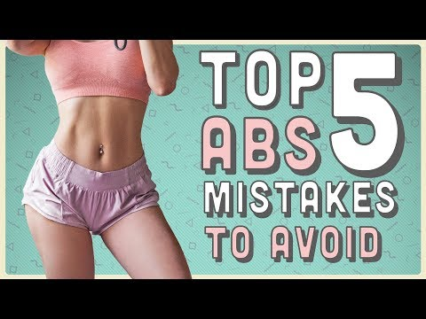 HOW TO GET FLAT ABS | Top 5 ABS MISTAKES TO AVOID