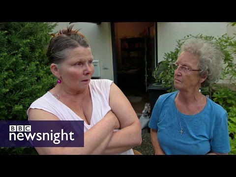 'Everybody needs to go back home' - BBC Newsnight