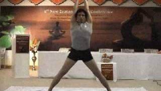 Glenn Ceresoli Iyengar Yoga demo pt1