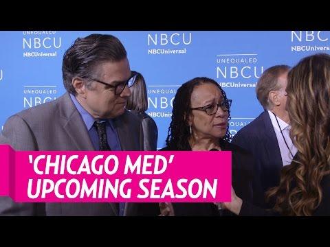 Oliver Platt & S. Epatha Merkerson On 'Chicago Meds' Upcoming Season