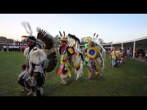 2017 Prairie Band Potawatomi Nation Powwow Grand Entry, Saturday Evening