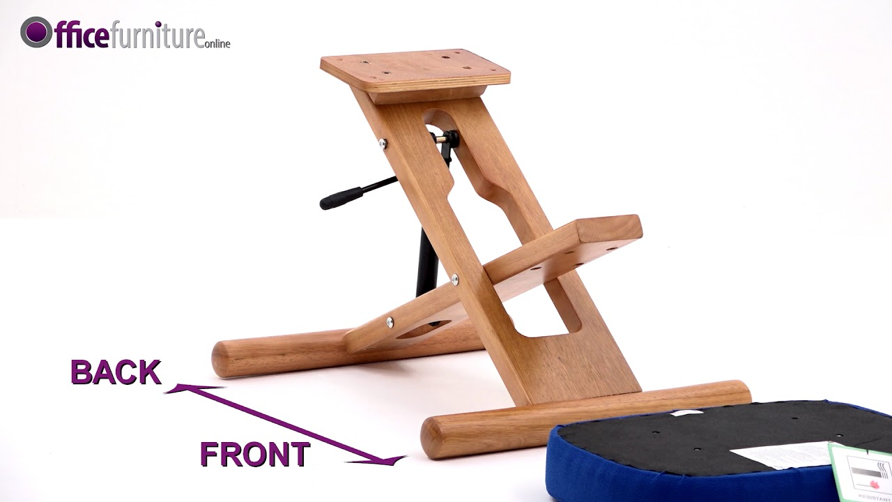 Posture Deluxe Chair Covers Wedding Ideas Wooden Kneeler Assembly Guide Youtube