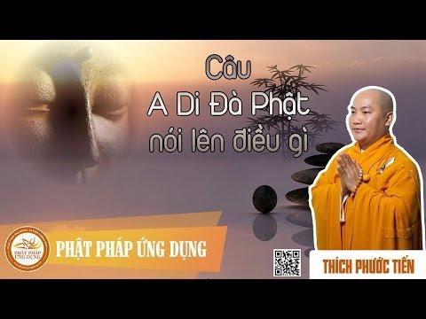 Câu A Di Đà Phật Nói Lên Điều Gì - Thầy Thích Phước Tiến