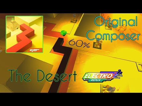 [FanMade] Dancing Line - The Desert Remix (Original Composer) - SECRET EXIT