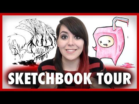 A Weird Sketchbook Tour 3