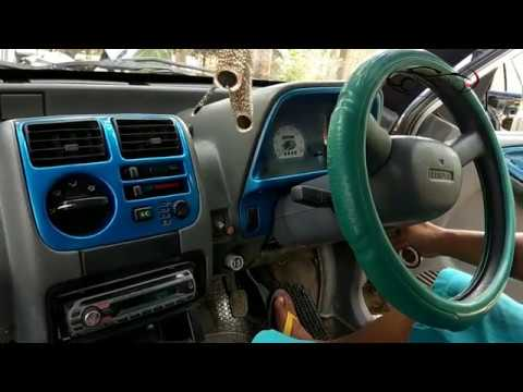 Car AC radiator and blower Cleaning || Maruti Zen AC Condensor cleaning