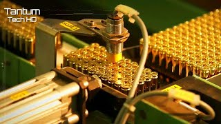 Amazing Manufacturing Process for Bullets, Ammunition and Projectiles - Machines & Modern Technology