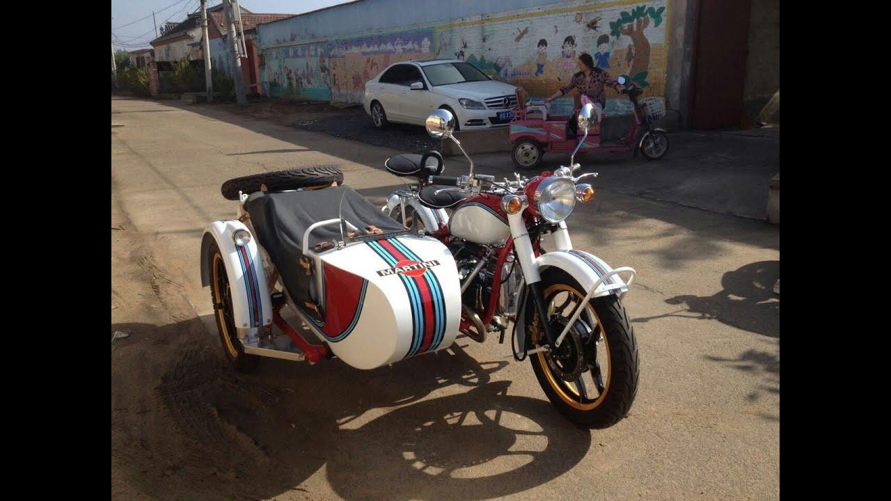 Martini Racing Custom Built CJ750 M1S Sidecar Motorcycle by Sidecar-Leo
