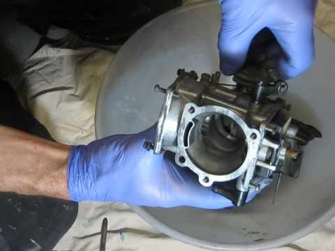 1996 Sportster carburetor check, problem was carburetor