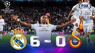 Real Madrid - Galatasaray [6-0] | GOLES | Grupo A | UEFA Champions League