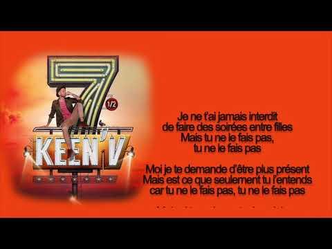 keen'v - Pas de taille ( bye bye ) (video lyrics officielle)