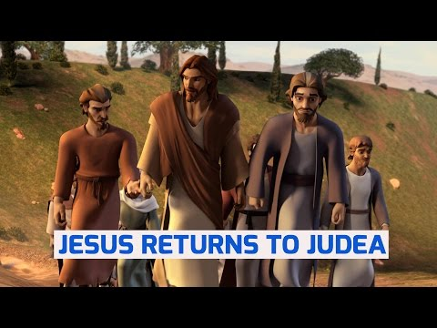 Jesus Returns To Judea - Superbook