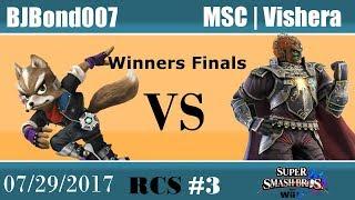 Baixar RCS #3 Smash Wii U Winners Finals - BJBond007 (Lucina, Fox) vs MSC | Vishera (Ganondorf)