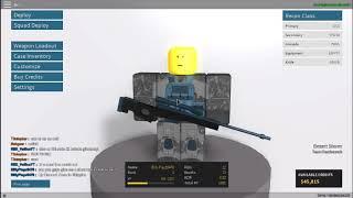 sfg50 and AWS Gun Review(Phantom Forces) Roblox
