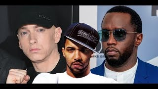 Joe Budden CLAIMS DIDDY WILL HANDLE EMINEM for Tupac Lyric killshot, Eminem blasted Samantha Ronson